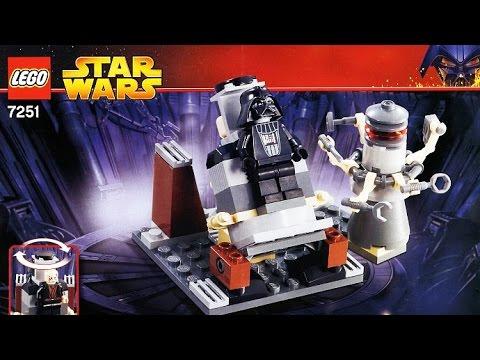 lego 7251 star wars darth vader transformation review youtube. Black Bedroom Furniture Sets. Home Design Ideas