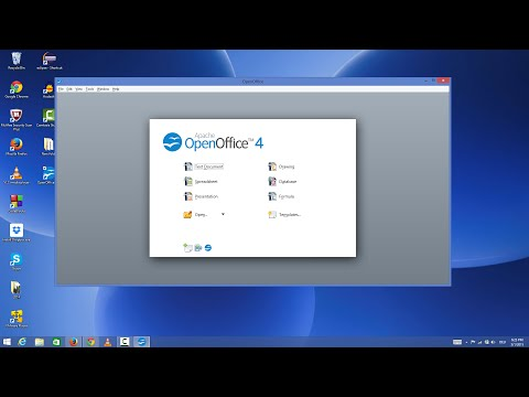 How To Install Free Office Suite (Apache OpenOffice) On Windows 8 / Windows 8.1