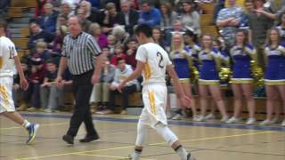 Acton Boxborough Boys Varsity Basketball vs Boston Latin 1/8/16