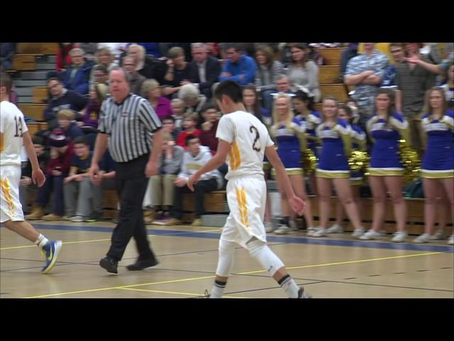 Acton Boxborough Boys Varsity Basketball vs Boston Latin 1/8/16