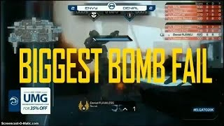 The Biggest Disappointment in CoD Ghosts History (Umg Philly Round 11 SND Envyus vs Denial eSports)