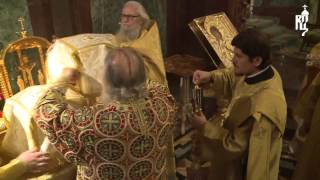 Patriarch of Antioch, John X and Patriarch of Moscow and All Russia Kirill, the Liturgy