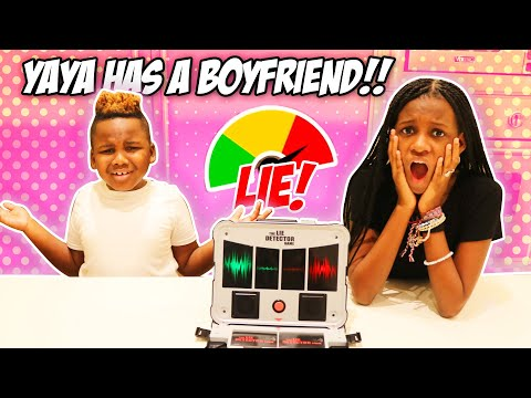 Yaya And Dj Take A Lie Detector Test (Can't Believe  Yaya Has A Boyfriend)