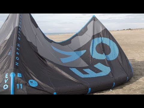 North EVO 2018 - Features Test & Review - All Round Delta Kite