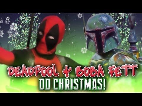 Deadpool and Boba Fett Do Christmas ! - YouTube