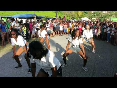 Statia  Easter Monday 2014 # Dance performance
