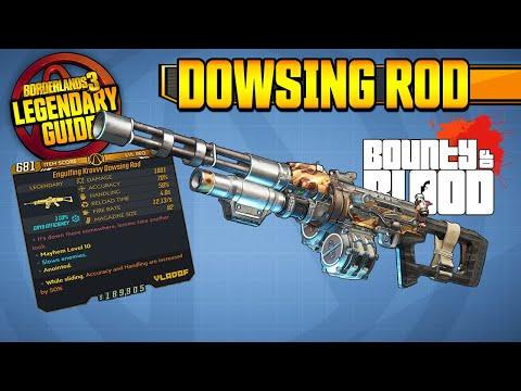 DOWSING ROD | Legendary Weapons Guide!!! | Bounty of Blood DLC 3 [Borderlands 3]