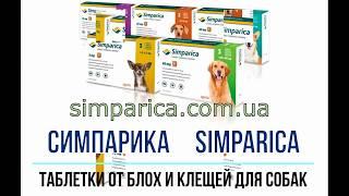 Симпарика Simparica, таблетки от блох и клещей для собак, ветклиника(, 2018-03-20T19:22:50.000Z)