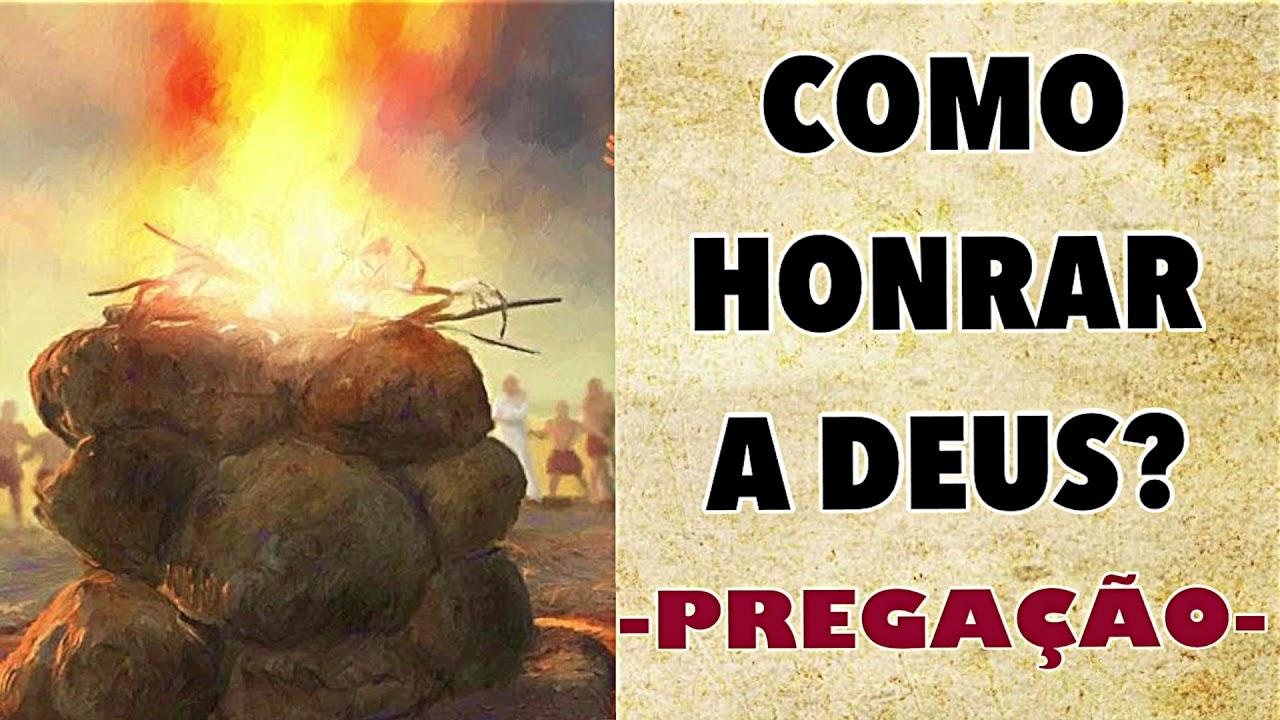 COMO HONRAR A DEUS ? | PR.FLAVIO DINIZ - PREGAÇÃO.
