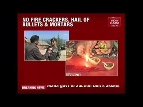 Army Jawans On High Alert On Border Even As Country Celebrates Diwali