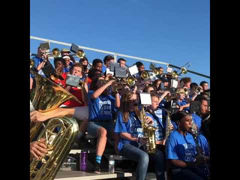 Bayou View Middle School band