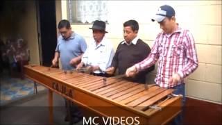 SON DE CARNAVAL MARIMBA XAJLA  DE JACALTENANGO, GUATEMALA 2015
