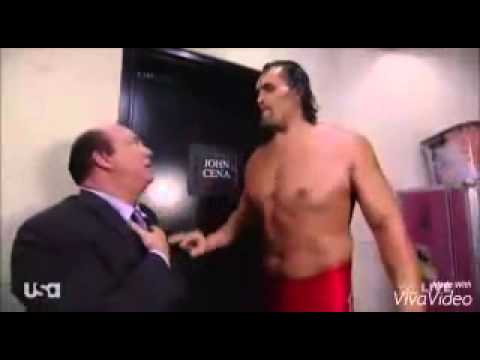 Great Kahli and Jhon Cena