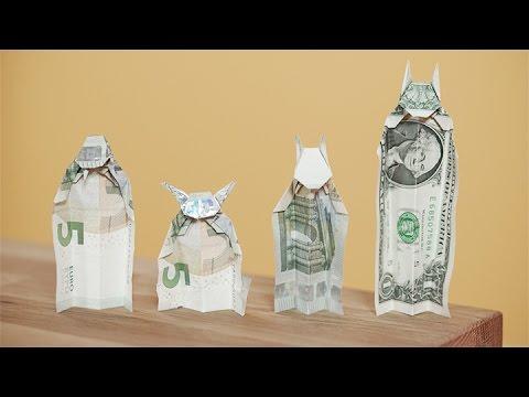 Dein Tutorial Geldscheine Falten Video Zum Buch Geldgeschenke