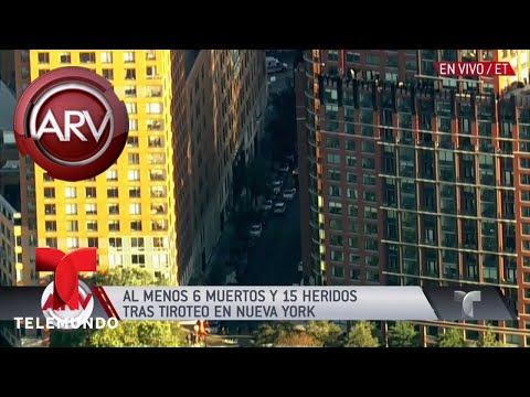 Imágenes revelan cómo comenzó ataque en Nueva York | Al Rojo Vivo | Telemundo
