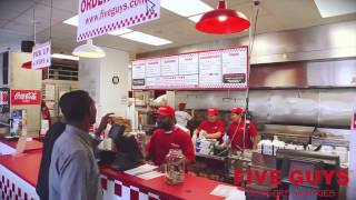 Best Burgers Fries Dogs Navy Yard Dc, President Obama Goes To Five Guys, Nationals Park Restaurants
