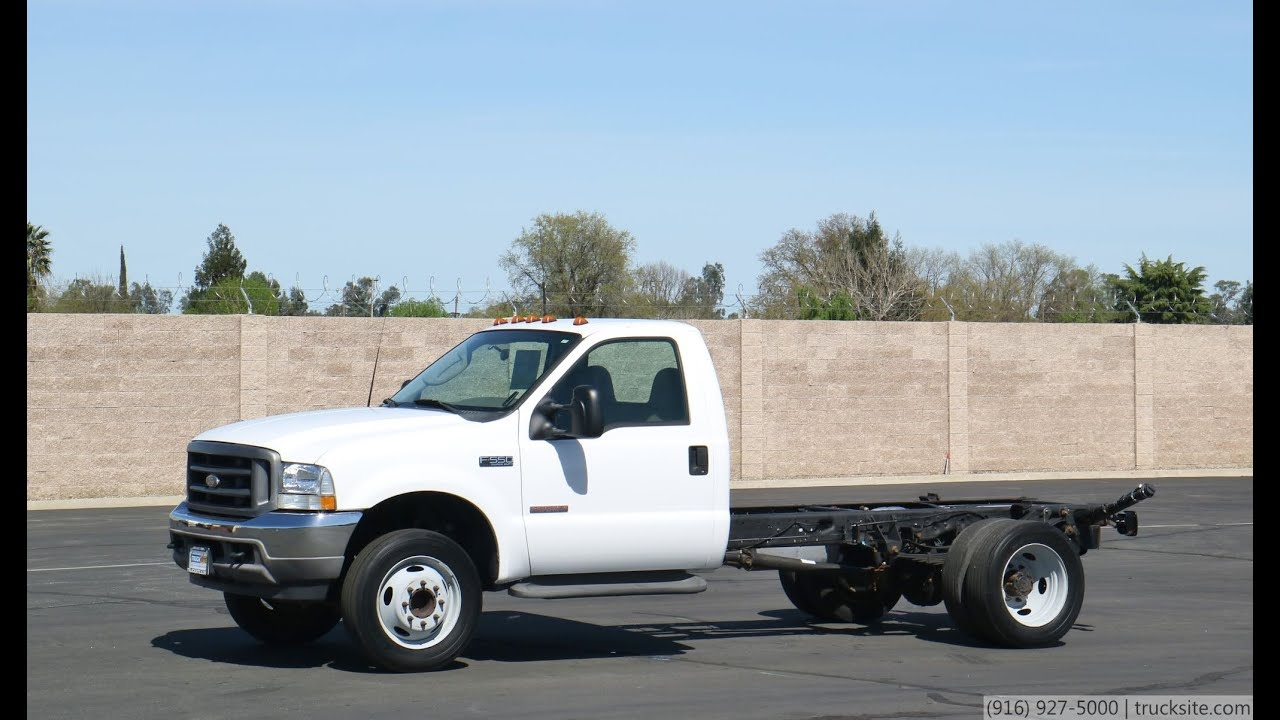 F550 For Sale >> 2003 Ford F550 Cab & Chassis - YouTube