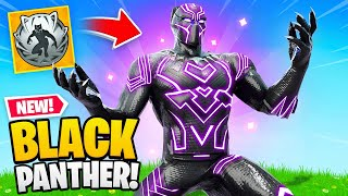 BLACK PANTHER in FORTNITE! (New Mythic Weapon)