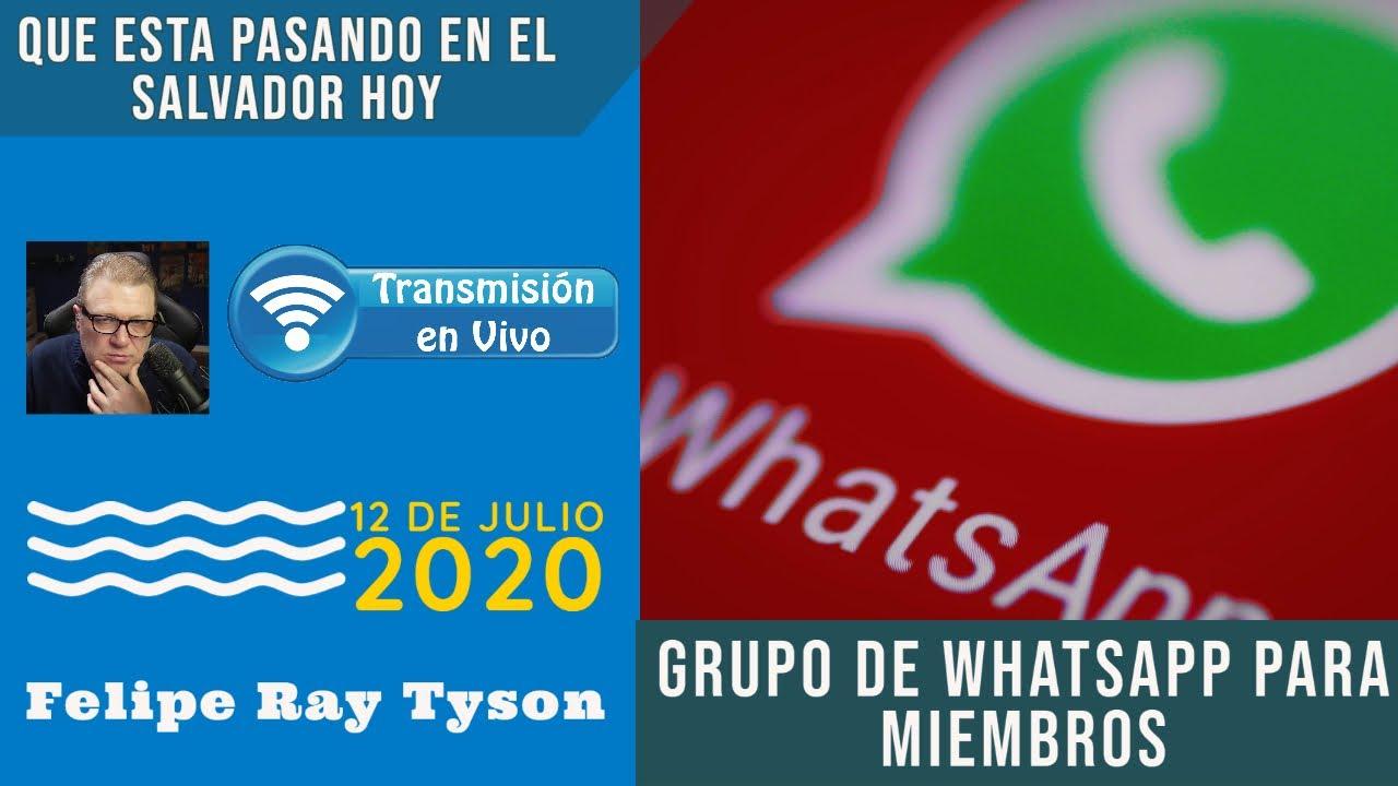 FelipeRayTyson En Vivo - Grupo de WhatsApp Para Miembros