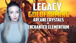 Goldfarming | Arcane Crystals & Enchanted Elementium Bar