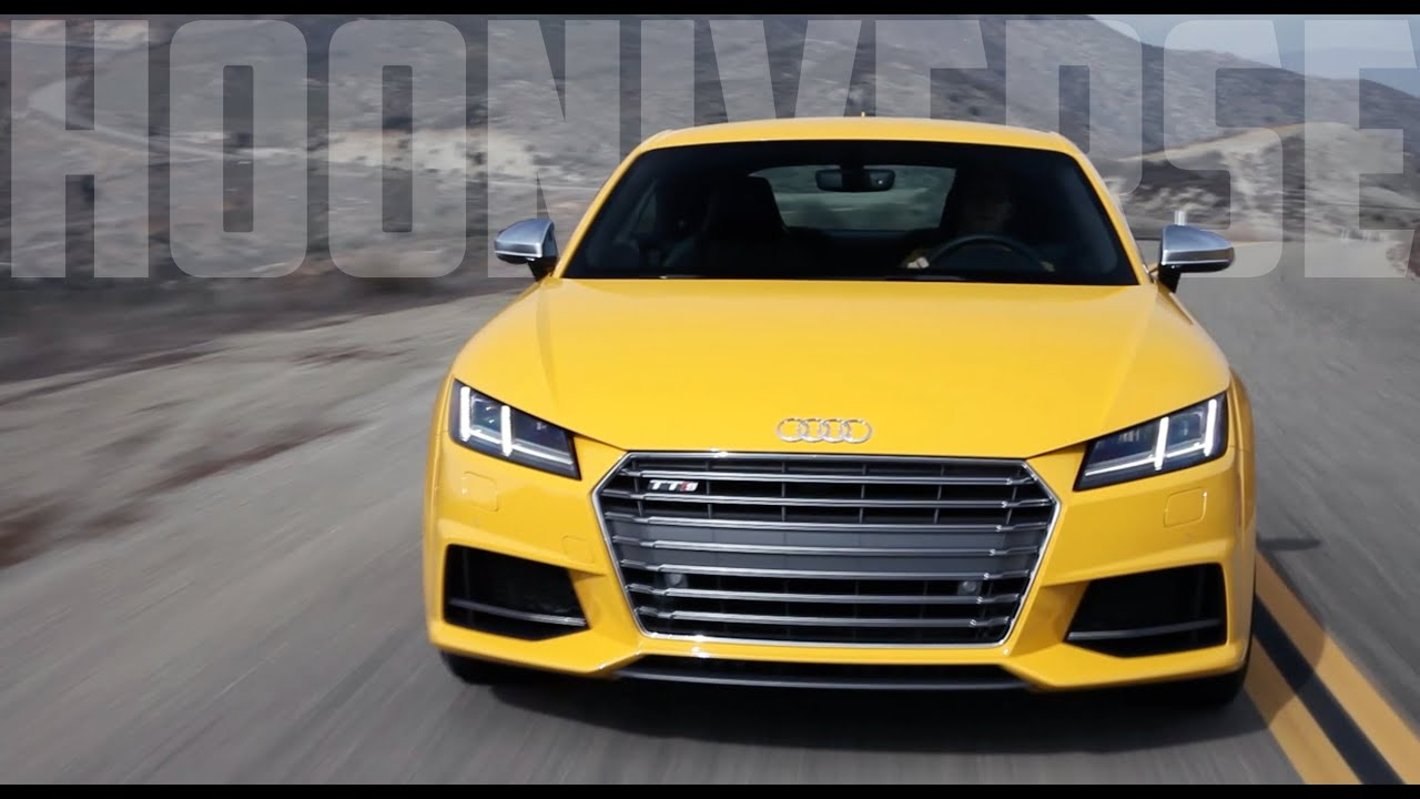 2016 Audi TTS: Not So Mellow In Yellow - YouTube