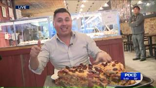 This 40-pound pizza in Queens will cost you $2,000