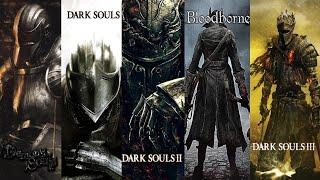 Evolution of Dark Souls - All Games Comparison 2009-2020