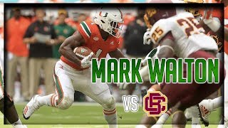 Mark Walton Highlights vs BCU // 16 Carries for 148 Yards, 2 TDs // 9.02.17