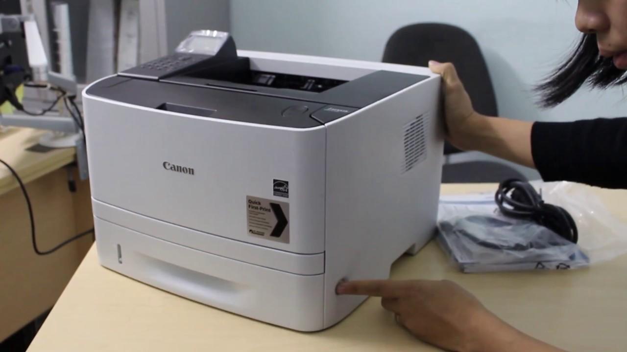 Giới thiệu Máy in canon lbp 251dw - vietbis.vn - YouTube
