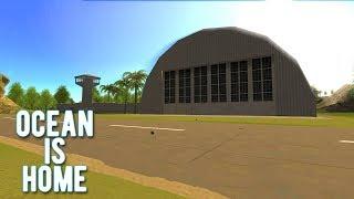 Ocean is Home: Survival island - Ангар с самолётом