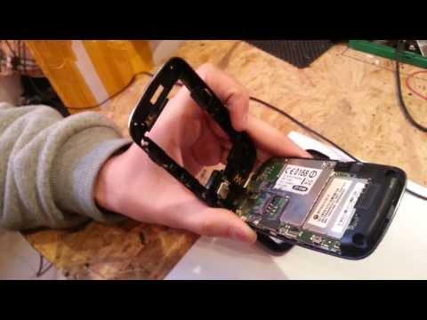 Разборка Motorola Fire XT XT530 AYMobile - ремонт телефонов. Dismantling phone