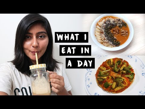 What I Eat in a Day Being Vegan 2018 🌿: Indian Edition | Kritika Goel
