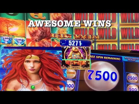 ** Retrigger Madness ** Rhino - 100 spins ** Big Wins and Other Pokies ** SLOT LOVER **