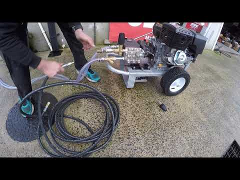 Loncin 14 Horse power electric start 3000 psi 21 litre gearbox pump