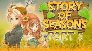 Story of Seasons - Teil 3 - Wir lernen die Stadtbewohner kennen (HD/N3DS/LetsPlay)