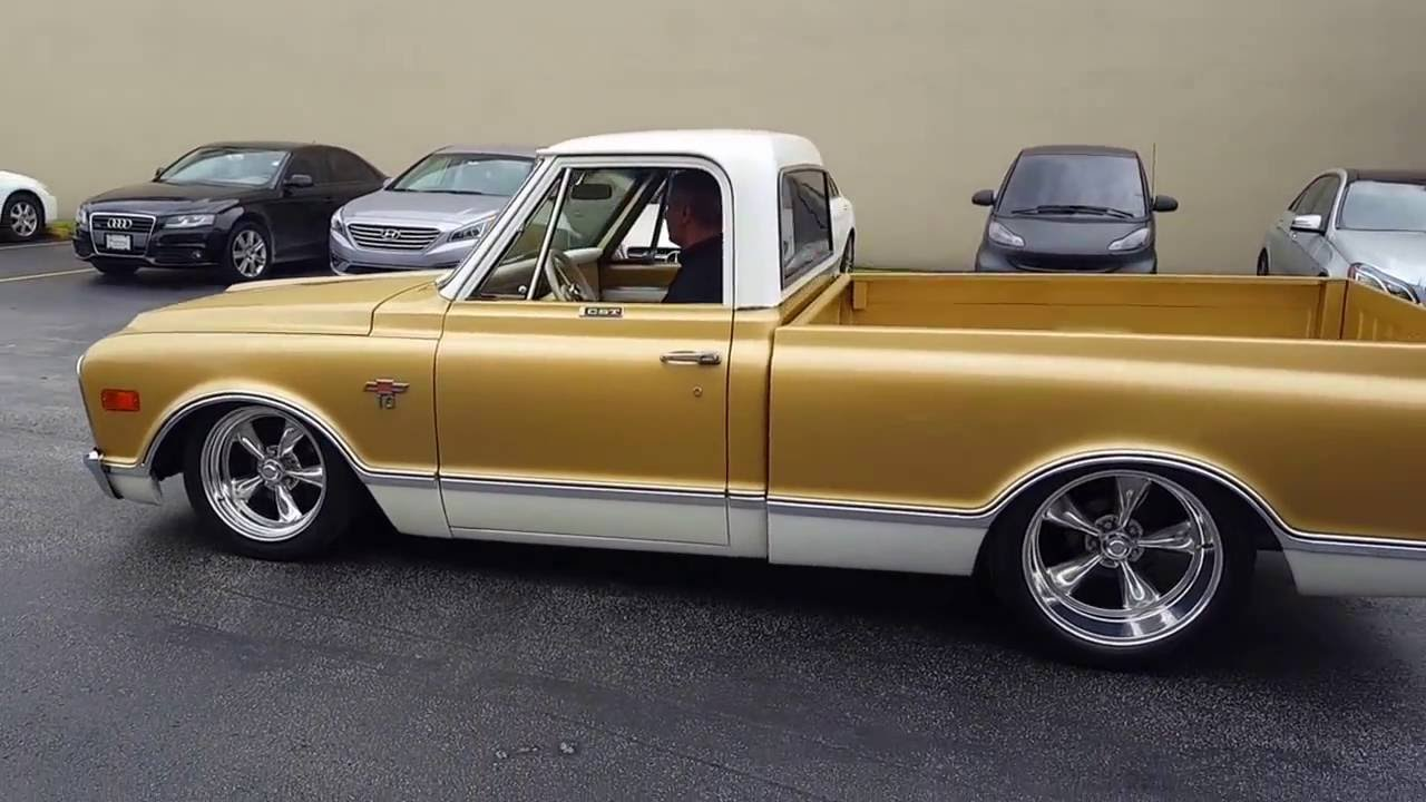 Truck 1968 chevrolet truck parts : 1968 Chevrolet C10 CST 50TH Anniversary Restomod - YouTube