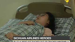 Sichuan Airlines: Flight lands safely after pilot got almost sucked out of cracked ...