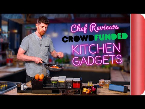 A Chef Reviews Crowd Funded Kitchen Gadgets