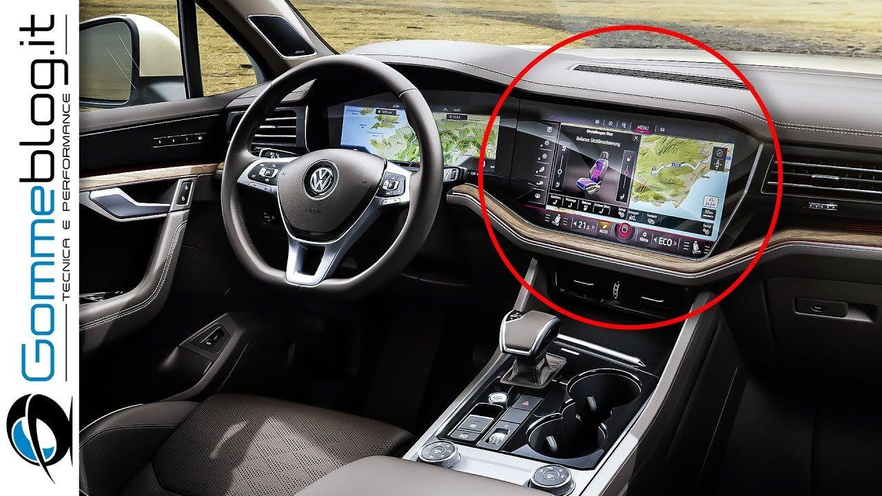 All-New VW Touareg INTERIOR - Volkswagen Touareg EXTERIOR R-Line ...