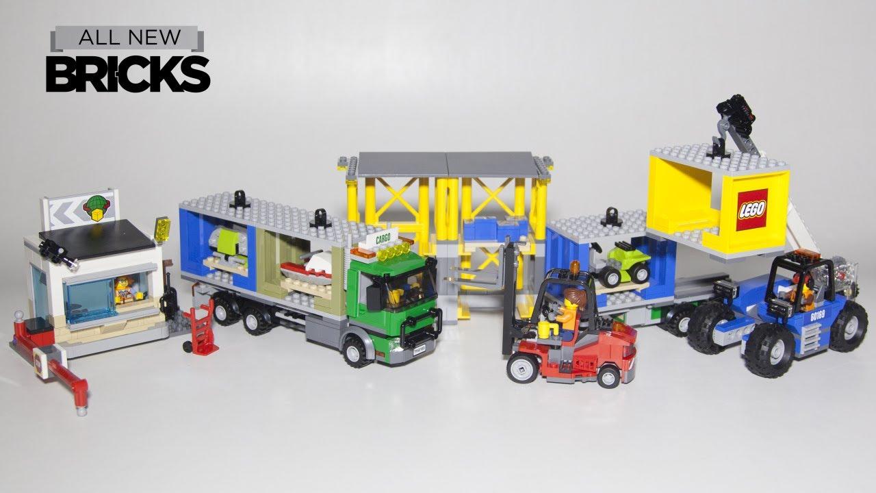 Lego City Cargo Terminal Speed Build