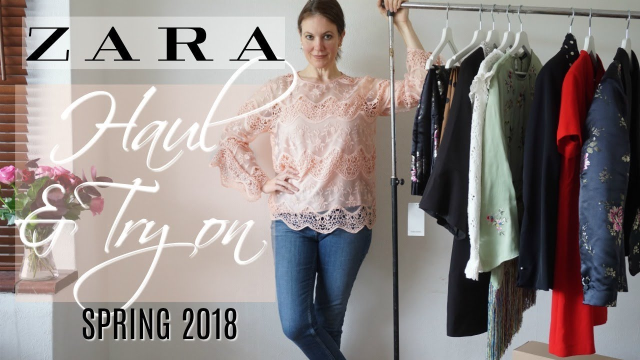 Zara Haul and Try on Spring 2018   Fashion over 40   YouTube Zara Haul and Try on Spring 2018   Fashion over 40
