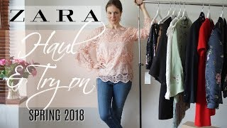 Zara Haul and Try on Spring 2018 | Fashion over 40