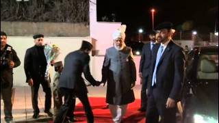 World Muslim Leader in Spain: Arrival and Inspection of newly built Baitur Rahman Mosque Valencia
