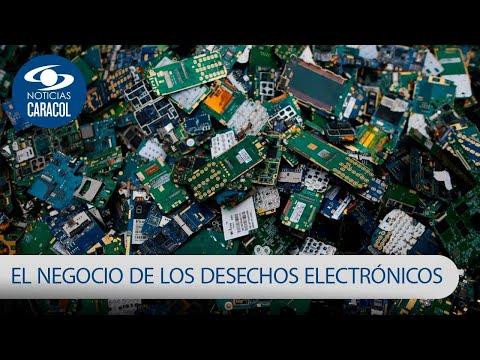 ¿A Dónde Van A Parar Celulares Y Computadores Desechados En Colombia? | Noticias Caracol
