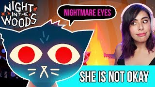 Embarrassing Myself in front of my EX in this Cute Mystery Game - Night In The Woods Ep2