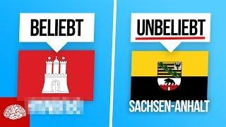 Das sind die beliebtesten und unbeliebtesten Bundesländer in Deutschland