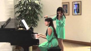 Song from a Secret Garden Piano Violin Duet