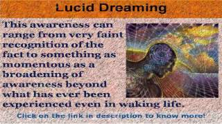 See now  lucid dreaming supplements