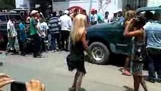 Rodeo Durango Mexico  Quema del Judas 24-04-2011