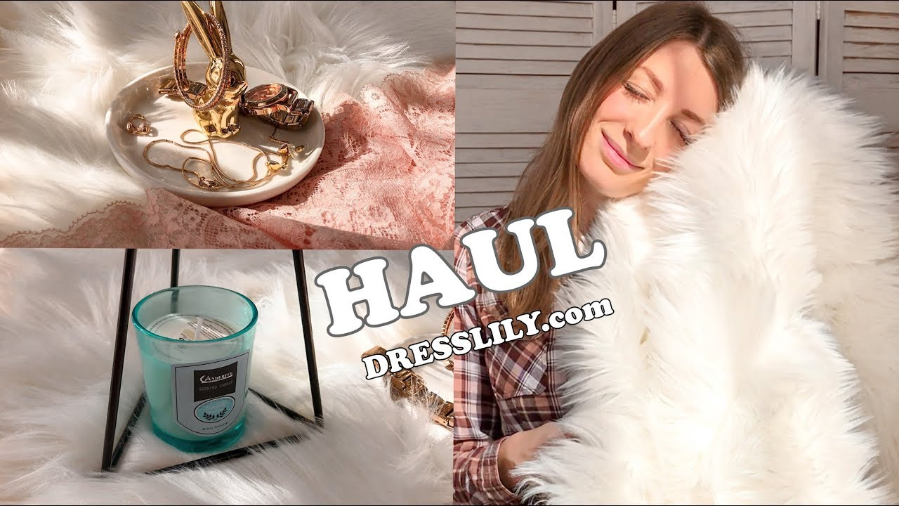 HAUL   Реквизит для фото из сайта DRESSLILY. com - YouTube